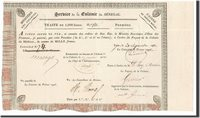 1000 Francs Senegal Banknote, 1831-09-20