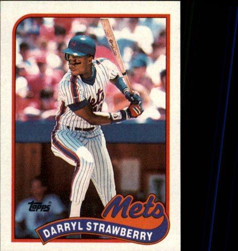 1989 Topps Baseball Card 300 Darryl Strawberry