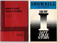 "Play ""How I got that story"" Amlin Gray & 1982 Showbill-Westside Arts Theater"
