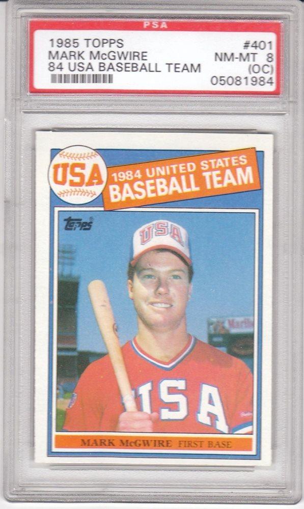 Ebay Auction Item 282501558299 Baseball Cards 1985 Topps