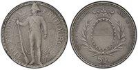 SWITZERLAND Fribourg Canton 1934-B AR 5 Francs PCGS SP65 Bern X-S18 Richter 431a