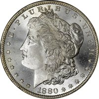 1880-S $1 Morgan Dollar NGC MS67 CAC