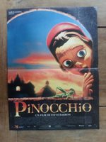 Poster PINOCCHIO 15 11/16x23 5/8in