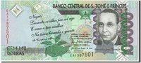 100,000 Dobras Saint Thomas and Prince Banknote, 2010-12-10