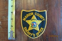 MARION COUNTY SHERIFF'S OFFICE DEPUTY SHERIFF COLLECTOR PATCH