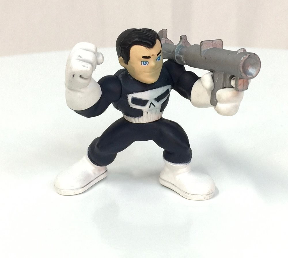 Marvel Super Hero Squad PUNISHER Frank Castle First Release from Wave 2