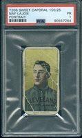 1910 T206 Nap Lajoie Port PSA 1 - $300.00