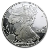 2006-W American Silver Eagle - Proof