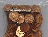 ZAMBIA 2 NGWEE KM10 1983 PRESIDENT KAUNDA EAGLE UNC MONEY LOT X 100 PCS COINS