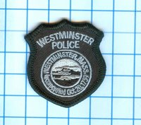 Police Patch - Massachusetts - Westminister 1759 Subdued 2""