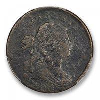 1800/79 1C Sheldon NC-2 Draped Bust Cent PCGS MS97BN