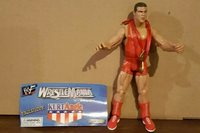 KURT ANGLE WWF WWE Jakks Exclusive Wrestlemania 17 Action Figure IN BAG SEE DESC