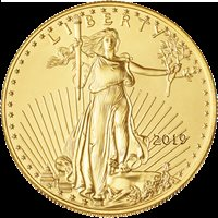 2019 $5 American Gold Eagle