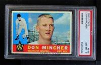 1960 Topps - [Base] #548 - Don Mincher [PSA 8 NM‑MT]
