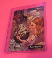 2007 HOLLYWOOD ZOMBIES Tobey Maguire HORROR TRADING CARD SATURDAY FRIGHTLIVE