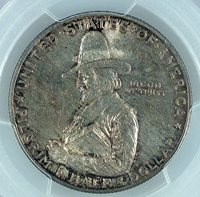 PILGRIM 1920 50C Commemorative Silver 50C PCGS MS 64