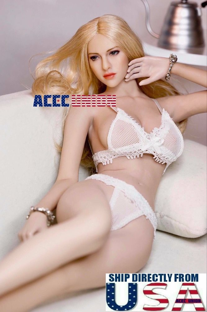 "1//6 Female Lace Lingeries Bra Bikini Panty For 12/"" PHICEN Hot Toys Figure USA"