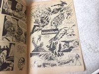 MORBIUS COMIC 1st known Turkish COMIC VAMPIRELLA cover+inside EARLY 1970s !