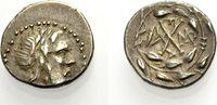 Ar Hemidrachmon 160-146 v Chr Greek Ancient Coins Coins Achaia: Achaean League, Elis Silver