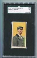 1910 T206 Piedmont Jack Bastian SGC 70 / 5.5 EX+