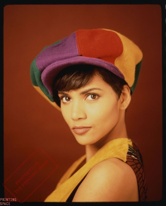 HALLE BERRY PRINT POSTER