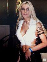 Tawny Roberts Hand Signed Autographed 11x14 Photo Sexy Porn Star GA GP 328941