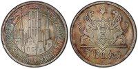 DANZIG 1927 AR 5 Gulden PCGS MS65 KM 147 Superbly toned gem.