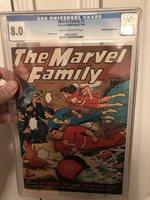 Marvel Family 4 CGC Golden age Golden Age Comic 1946