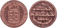 RARE REPRODUCTION - 1 KRIZAR 1849 coin