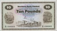 10 Pounds 01 3 1981 Nord-irland P 189d