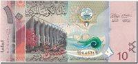 10 Dinars Undated Kuwait Banknote