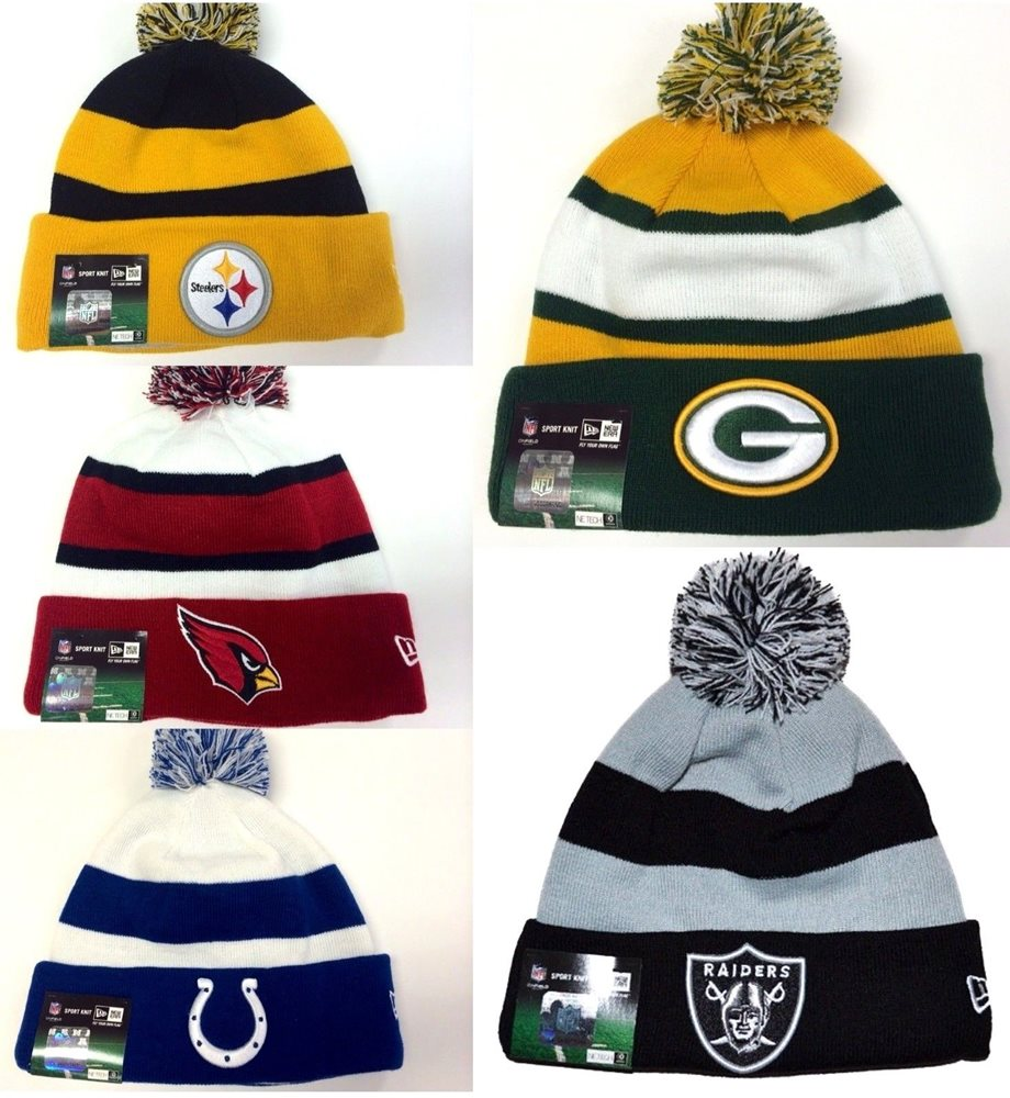 3f33287cde560 New Era NFL Sport Knit On Field Sideline Cuff Fleece Li