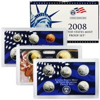 2008 Proof Set - 14 Coin Set