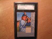 2003 Topps Gallery Game Used Bat Baseball Card - George Brett