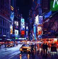 Henderson Cisz – Time Square, New York City, Limited Edition
