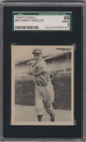1939 Play Ball #63 Heinie Mueller SGC 88 8 RC Rookie Philadelphia Phillies