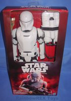 Disney Hasbro Star Wars The Force Awakens 12 inch First Order Flametrooper Seale