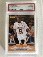 2009 Panini #400 JAMES HARDEN ROOKIE PSA 10 GEM MT HOUSTON ROCKETS Rc