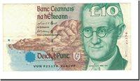 10 Pounds 1993-1999 Ireland Republic Banknote, Km:76b