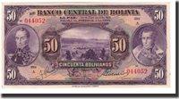 50 Bolivianos L 1928 Bolivien Banknote, Km:123a