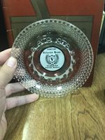 Vintage Stolen From Victorian House Green Bay Wisconsin Glass Ash Tray