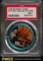 1966 Batman Coin Holy Balls Of Fire! #11 PSA 7 NRMT (PWCC)