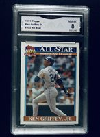 5425839127 1991 Topps 40 Years of Baseball Ken Griffey Jr. All Star #392, Rated