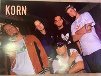 KORN - LEANING LEFT - 90s rock music 24x36 new rolled
