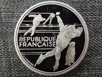 France 1992 Olympics, Albertville, Speed Skating 100 Francs .900 Silver Coin 199