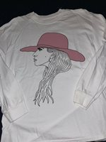 Lady Gaga URBAN OUTFITTERS JOANNE Collection Album Cover White Long Sleeve LARGE