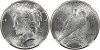 1928 Peace $1 NGC MS64