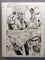 Naza #7 page 6, Sept. '65, Original Art by Jack Sparling