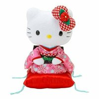 Sanrio Japan Hello Kitty Japan Doll Kimono Pink from Japan