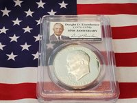 IKE- 1776-1976 Silver Dollar PCGS- PR69